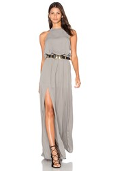 Show Me Your Mumu X Revolve Heather Halter Dress Gray