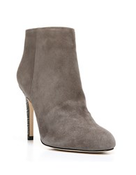 Sam Edelman Kourtney Suede Ankle Booties Grey