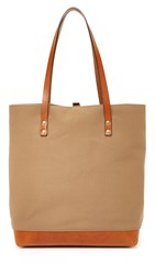 Southern Field Industries Waxed Canvas Sf Tote Desert Tan