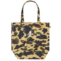 A Bathing Ape 1St Camo Packable Tote Bag Multi