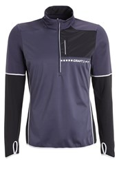 Craft Thermal Wind Sports Shirt Gravel Black Grey