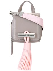 Kenzo Mini 'Sailor' Tote Grey
