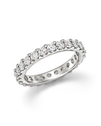 Bloomingdale's Diamond Eternity Band In 14K White Gold 1.50 Ct. T.W.
