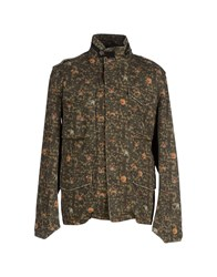 Mason's Coats And Jackets Jackets Men Military Green