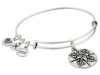 Alex And Ani Healing Love Charm Bangle Rafaelian Silver Bracelet