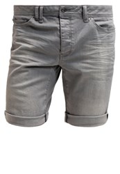 Bench Roadhouse Denim Shorts Mid Worn Grey Grey Denim