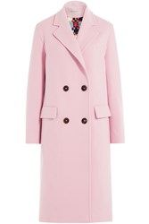 Emilio Pucci Virgin Wool Coat With Cashmere Pink