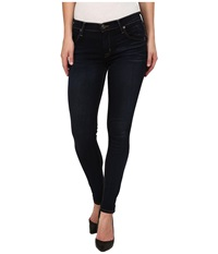 Hudson Lilly Midrise Ankle Skinny W Flap Jeans In Oracle Oracle Women's Jeans Blue