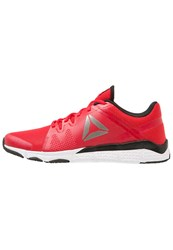 Reebok Trainflex Sports Shoes Red Black White Pewter