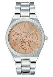Aldo Fralian Watch Silvercoloured Rose Goldcoloured