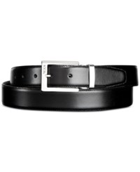 Tumi Men's Polished Buckle Reversible Belt