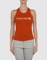 Indian Rose Topwear Tops Women Rust