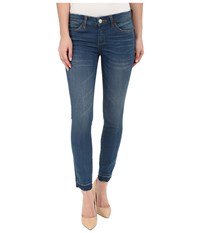 Blank Nyc Crop Skinny Jeans In Denim Blue Denim Blue Women's Jeans