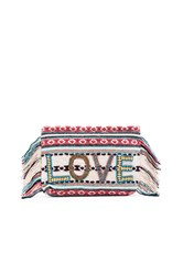 Ale By Alessandra All You Need Is Love Clutch Coral