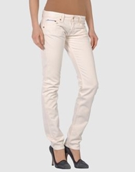 Care Label Casual Pants Ivory