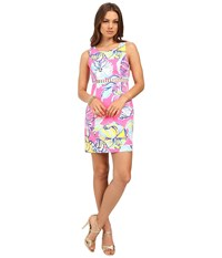 Lilly Pulitzer Iggy Shift Dress Kir Royal Pink Swept By The Tides Women's Dress
