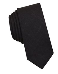 Original Penguin Sunny Isles Solid Tie Black