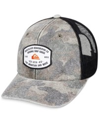 Quiksilver Men's Simpletons Camouflage Chambray Trucker Hat