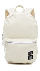 Stussy Heavy Canvas Lawson Backpack White