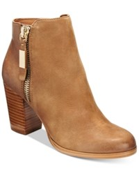 Aldo Women's Mathia Leather Booties Cognac