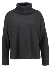 Opus Garance Long Sleeved Top Raven Grey Anthracite