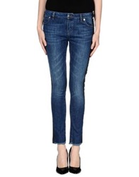 April May Denim Pants Blue