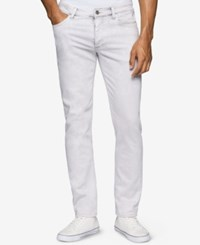 Calvin Klein Jeans Men's Bleached Marble Skinny Jeans