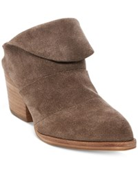 Steve Madden Steven By Women's Shila Slip On Mules Women's Shoes Taupe Suede