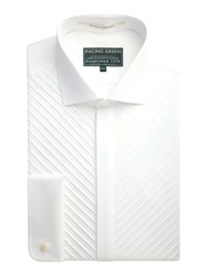Racing Green Image Formal Dress Shirt White