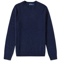 Polo Ralph Lauren Cashmere Mix Crew Knit Blue