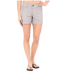 Columbia Pilsner Peak Shorts Pulse Oxford Women's Shorts Gray