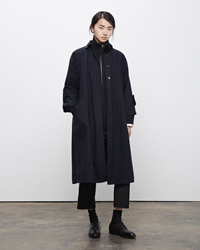 La Garconne Moderne Drafting Trench Coat Navy