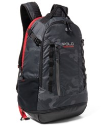 Polo Ralph Lauren Sport Men's Ripstop Sport Backpack Black Multi