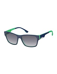 Diesel Square Sunglasses Blue