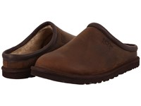 Ugg Classic Clog Stout Leather Men's Clog Shoes Black