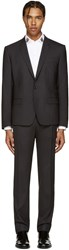 Dolce And Gabbana Grey Wool Martini Suit