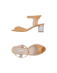 Carlo Pazolini Couture High Heeled Sandals Camel