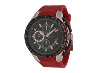 Armani Exchange Zero Light Red Black Chronograph Watches