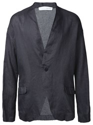 Isabel Benenato Relaxed Fit Blazer Grey