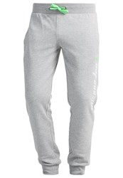 Mizuno Heritage Tracksuit Bottoms Grey Marl Mottled Grey