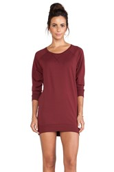 Bobi Tunic Sweater Rust