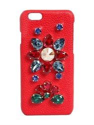 Dolce And Gabbana Crystals Embellished Iphone 6 Case