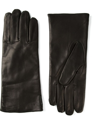Diesel Lambskin Gloves Black