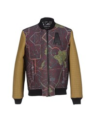 Amaranto Coats And Jackets Jackets Men Cocoa