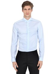 Eton Slim Fit Striped Cotton Poplin Shirt
