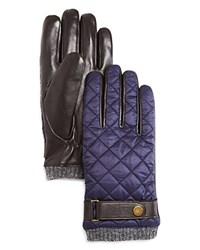 Polo Ralph Lauren Quilted Nylon Gloves Aviatory Navy