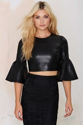 Nasty Gal Party Town Bell Sleeve Top