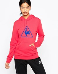 Le Coq Sportif Affutage Hoodie Bright Red