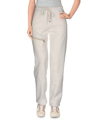 Patrizia Pepe Love Sport Trousers Casual Trousers Women Grey