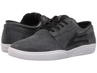 Lakai Griffin Xlk Grey Black Suede Men's Skate Shoes